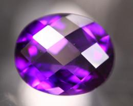 Amethyst 4.93Ct Natural Uruguay VVS Electric Purple Amethyst 17AF620
