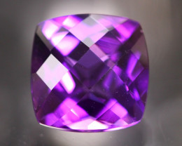 Amethyst 3.88Ct Natural Uruguay VVS Electric Purple Amethyst 17AF626