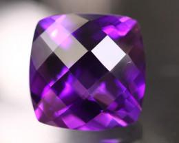 Amethyst 4.04Ct Natural Uruguay VVS Electric Purple Amethyst 17AF628