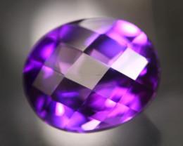Amethyst 4.98Ct Natural Uruguay VVS Electric Purple Amethyst 17AF629