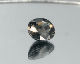 5.10ct Natural Copper Bearing Tourmaline  oval Faceted