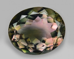 4.69 Cts UNHEATED PINK GREEN COLOR NATURAL TOURMALINE  GEMSTONE