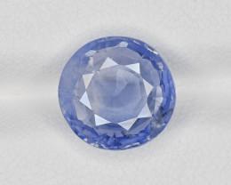 Blue Sapphire, 5.79ct - Mined in Kashmir | Certified by GRS