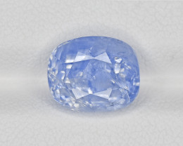 Blue Sapphire, 6.05ct - Mined in Kashmir | Certified by GRS