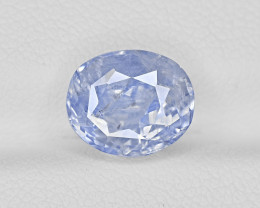 Blue Sapphire, 4.61ct - Mined in Kashmir | Certified by GRS