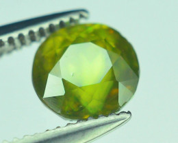 AAA Color 0.75 ct Chrome Sphene from Himalayan Range Skardu Pakistan