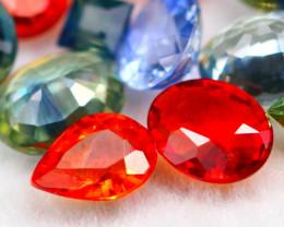 Fancy Sapphire 3.15Ct 17Pcs Natural Multi Fancy Sapphire Lot 17AF759