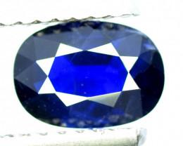 1.55 Carats Top Quality Royal Blue Sapphire Gemstone