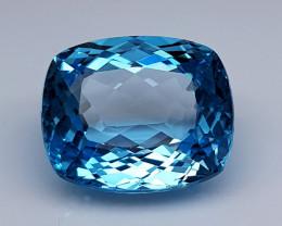 20 Crt  Blue Topaz Natural Gemstones JI45