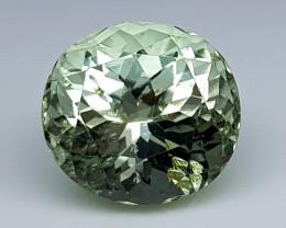 7.65 Crt  Green Spodumene Natural Gemstones JI45