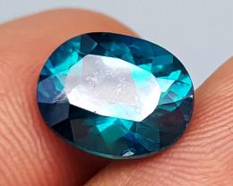 4.75 Crt  Green Topaz Natural Gemstones JI45