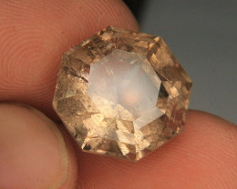 Rutile Quartz Cut Gemstone From Pakistan
