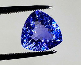 Trillion Tanzanite 3.70 ct