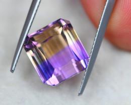 8.07ct Bi Color Ametrine Emerald Cut Lot V5059