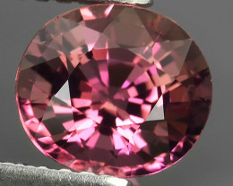 1.55 CTS-ALLURING TOP COLOR PINK TOURMALINE OVAL CUT!!!