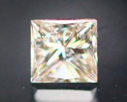 Diamond 0.14Ct Natural Princess Cut Pink Color Diamond 16CF01