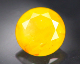 Diamond 0.28Ct Natural Fancy Yellow Color Round Diamond 16CF07