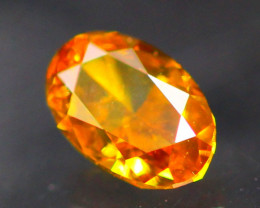 Diamond 0.21Ct Natural Fancy Orange Color Diamond  16CF17