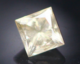 Diamond 0.25Ct Natural Princess Cut White Color Diamond 16CF34