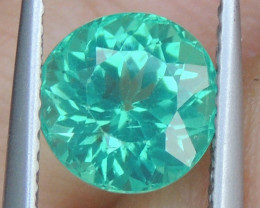2.05cts Neon Apatite,  Jaw Dropping Luster