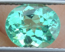 2.06cts Neon Apatite,  Jaw Dropping Luster