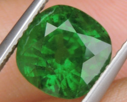 4.07cts, Tsavorite,  Untreated,  Pure Green,