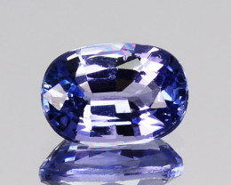 1.12 Cts Natural Purplish Blue Tanzanite Oval Cut Tanzania