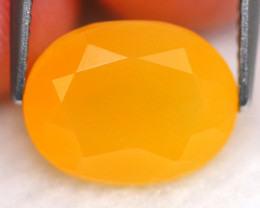 Mexican Opal 3.14Ct Natural Faceted Mexican Fire Opal D1903