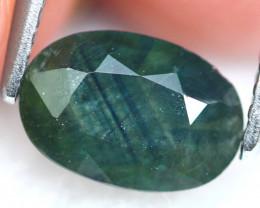 Green Sapphire 1.34Ct Natural Green Sapphire  E1902