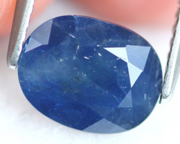 Blue Sapphire 1.89Ct Natural Madagascar Blue Sapphire E1904