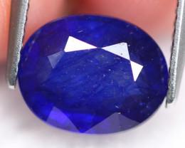 Ceylon Sapphire 3.37Ct Royal Blue Sapphire E1908