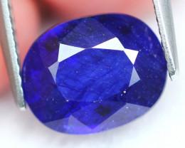 Ceylon Sapphire 3.39Ct Royal Blue Sapphire E1909