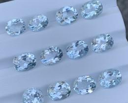 37.45 Carats Topaz Gemstones