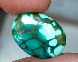TIBETIAN TURQUOISE Jewelry Size Gemstone Natural+Untreated VA2794