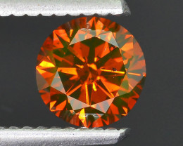 AAA Grade 1.06 ct Orange Diamond SKU-16