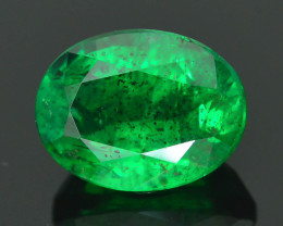 2.54 ct Zambian Emerald Vivid Green Color SKU-29