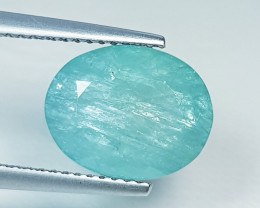 5.05 ct Excellent Green Oval Cut Natural Grandidierite