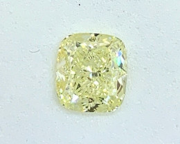 1.51 ct GIA Certified Diamond - Light Yellow - $6850