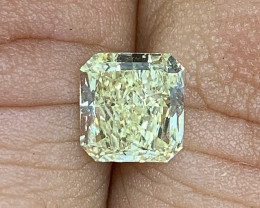 1.23 ct GIA Certified Diamond - VVS2 - Light Yellow $7000