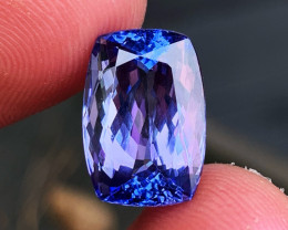 12.17 ct AAA Tanzanite - Loupe Clean - Free GIA Certification