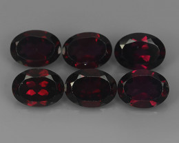 10.15 CTS MARVELOUS RARE NATURAL RHODOLITE OVAL-CUT DAZZLING !!