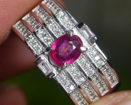 23.50 CT Pretty Natural Ruby Gemstone