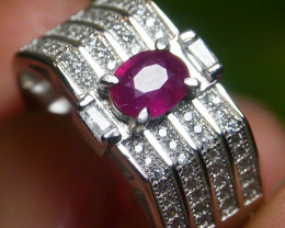 23.60 CT Pretty Natural Ruby Gemstone Ring Jewelry