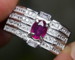 23.45 CT Pretty Natural Ruby Gemstone Ring Jewelry