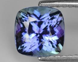 1.78 Cts Violet Blue Color Natural Tanzanite Gemstone