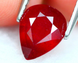 Ruby 1.92Ct Vivid Red Mozambique Red Ruby 19AF791