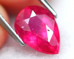 Ruby 3.56Ct Vivid Red Mozambique Red Ruby 19AF799