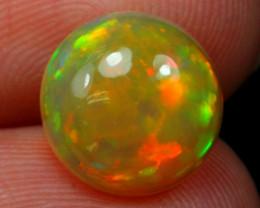 Welo Opal 2.29Ct Natural Multi Color Ethiopian Opal 19AF803