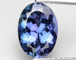 2.00 Cts Violet Blue Color Natural Tanzanite Gemstone
