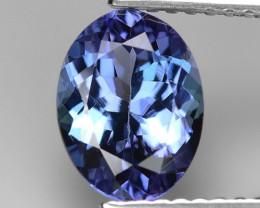 1.61 Cts Violet Blue Color Natural Tanzanite Gemstone